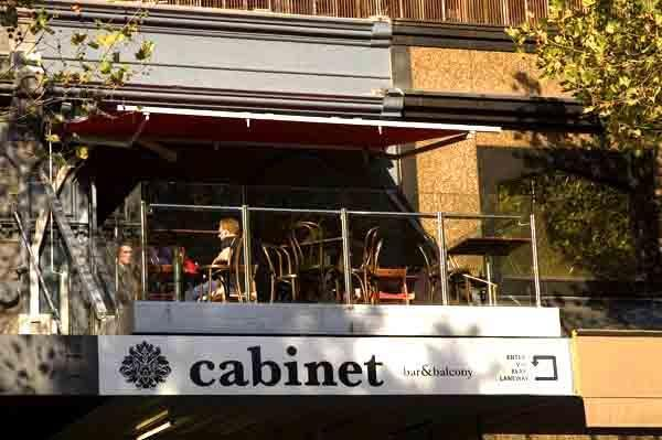 Cabinet Bar & Balcony <br/> CBD Hidden Bars