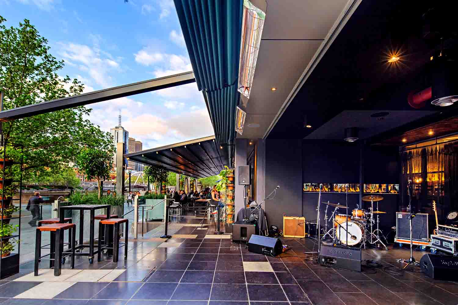 Ludlow waterfront function venues hidden city secrets for Best private dining rooms in melbourne