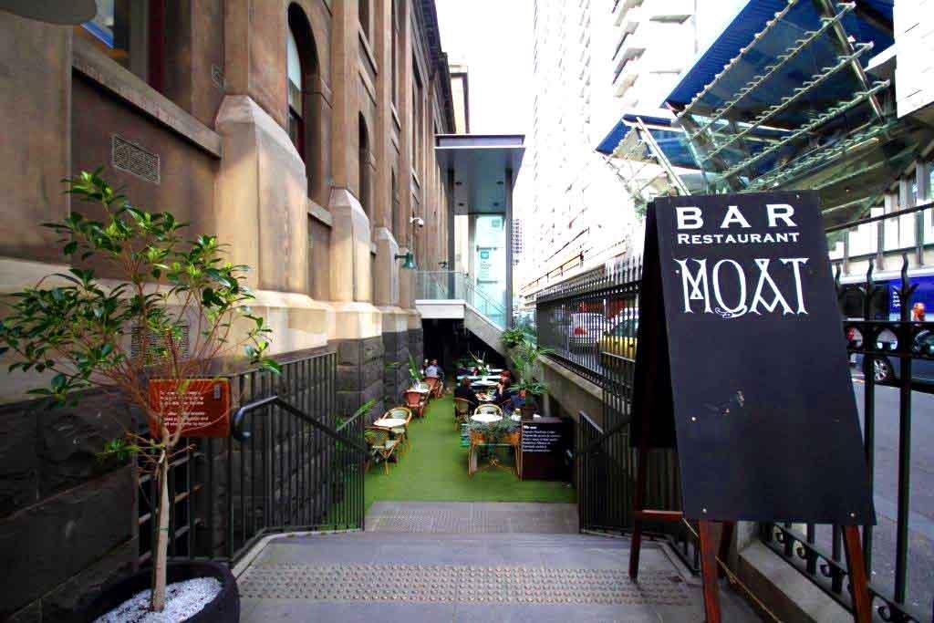 Moat Bar And Restaurant Melbourne