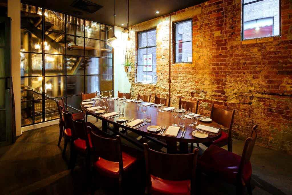 Top Private Dining Rooms Melbourne