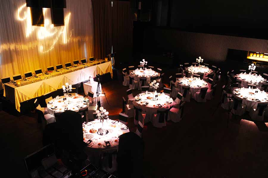 Maia large warehouse function venue hidden city secrets for Small private wedding venues