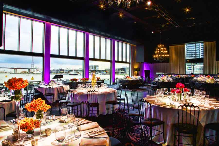 Sketch large function rooms hidden city secrets for Small private wedding venues