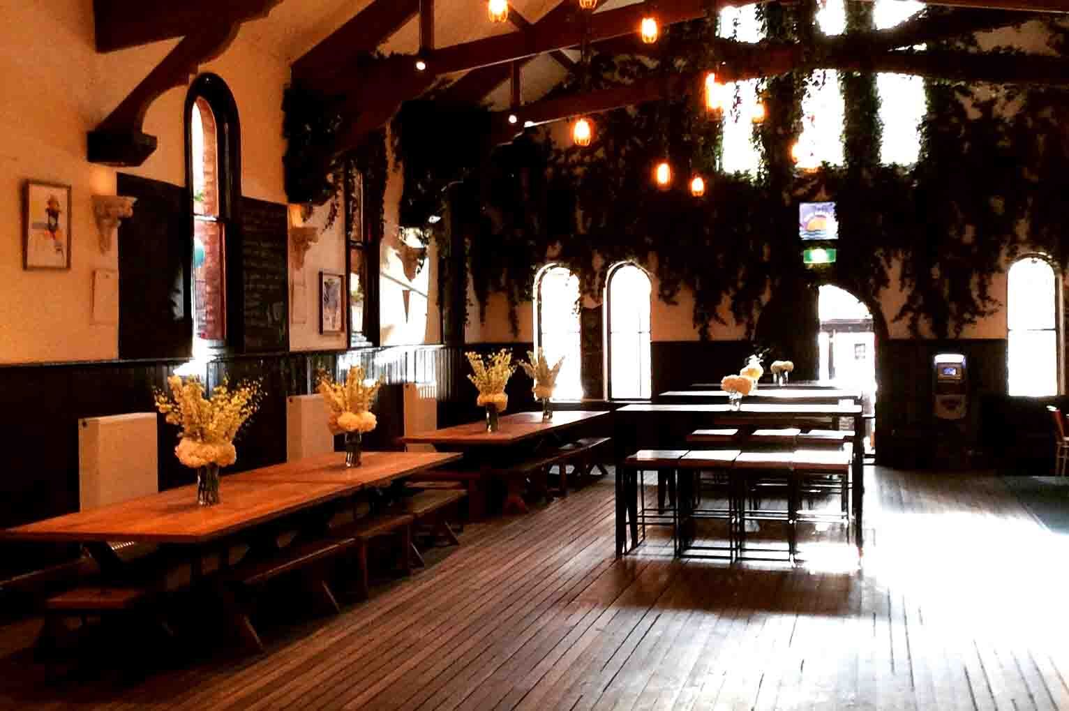 The Brunswick Mess Hall – Venue Hire