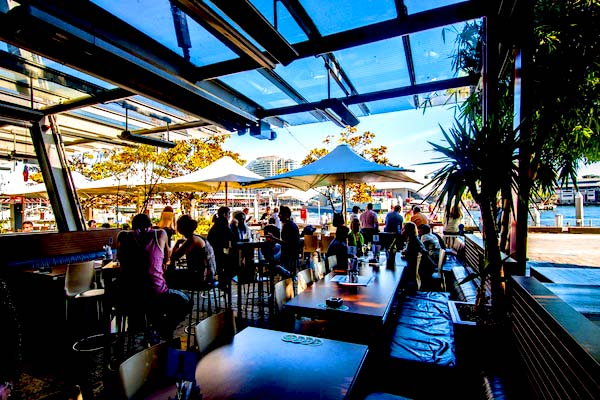 Cargo Bar - best waterfront bar Sydney