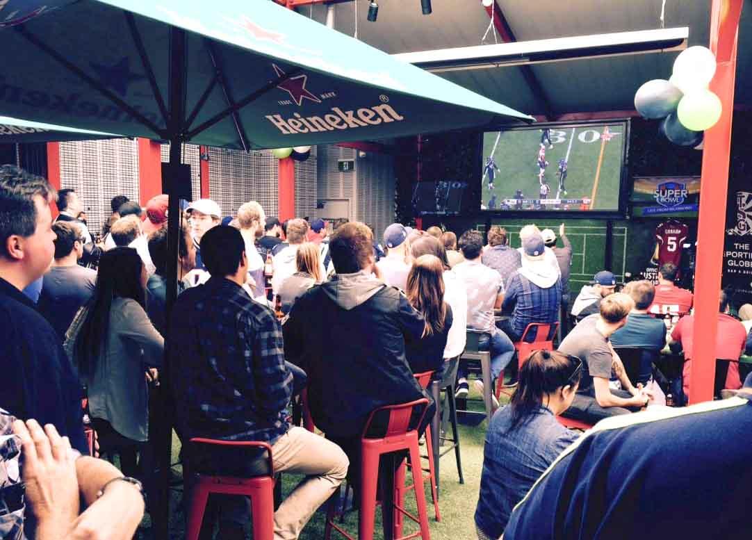 Sporting Globe – Richmond Sports Bar!