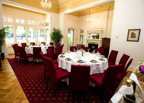 The gables beautiful wedding venues hidden city secrets for Beautiful private dining rooms melbourne