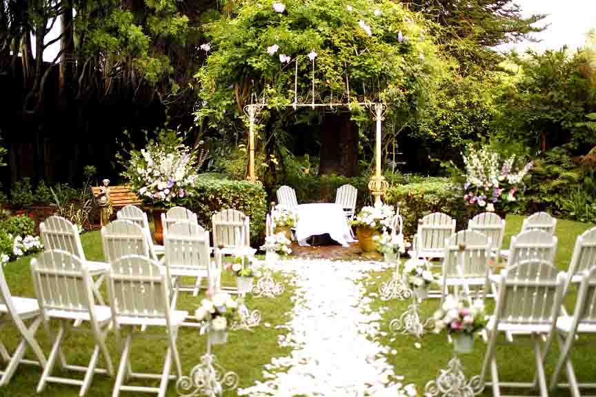 The Gables Garden Wedding Venues Hidden City Secrets