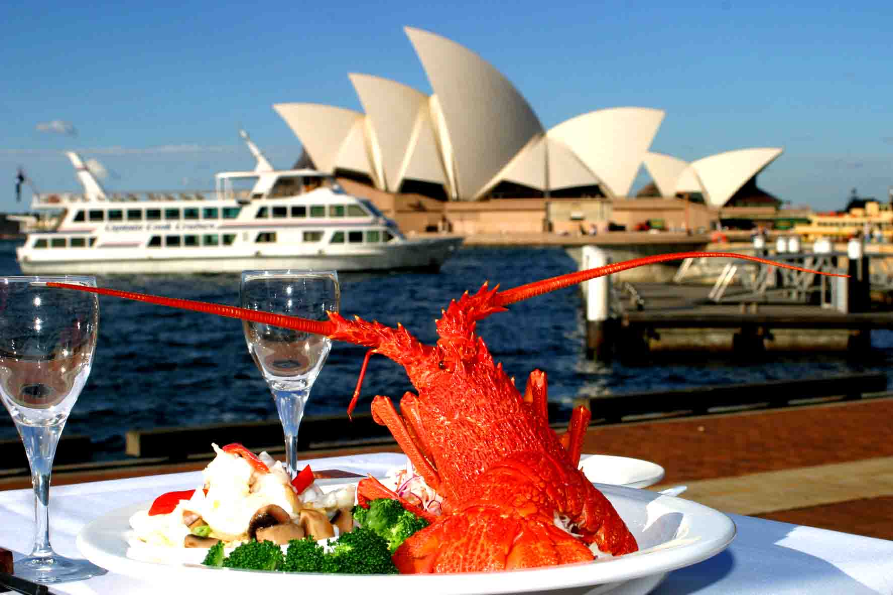 Imperial peking harbourside top cbd restaurants hidden for Australian cuisine restaurants sydney