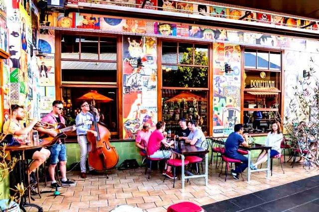 Bohemian Bar And Restaurant Melbourne