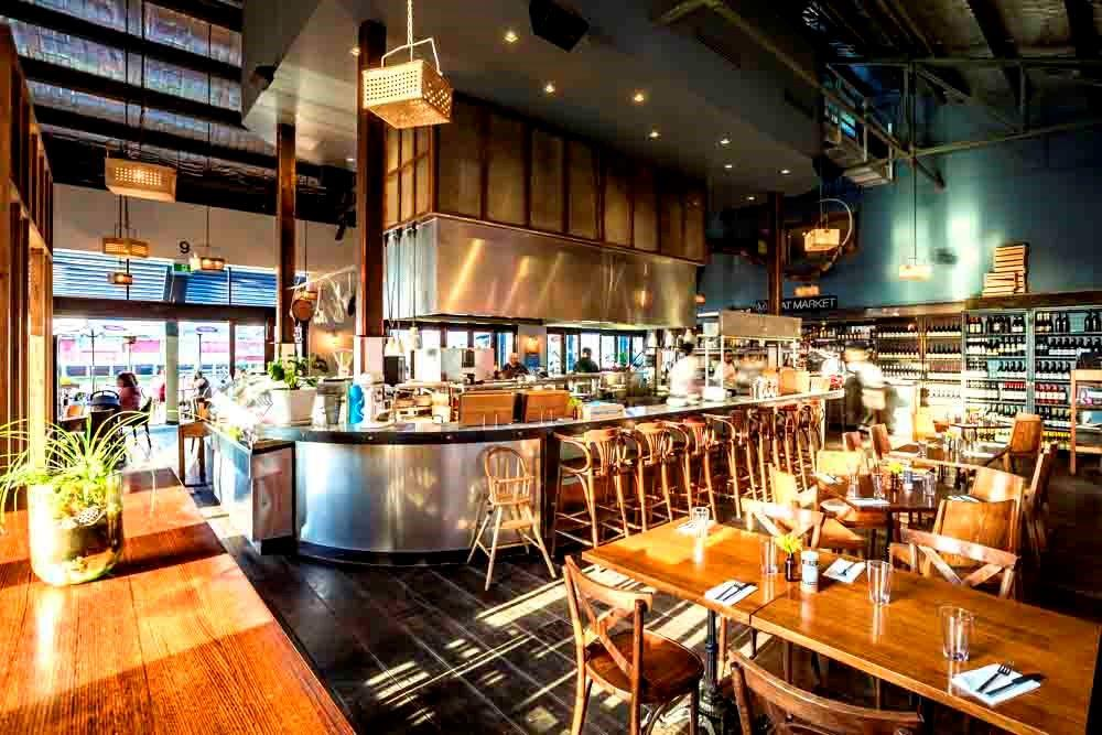 Meat packing district inspired restaurant in melbourne for Fish market restaurant nyc