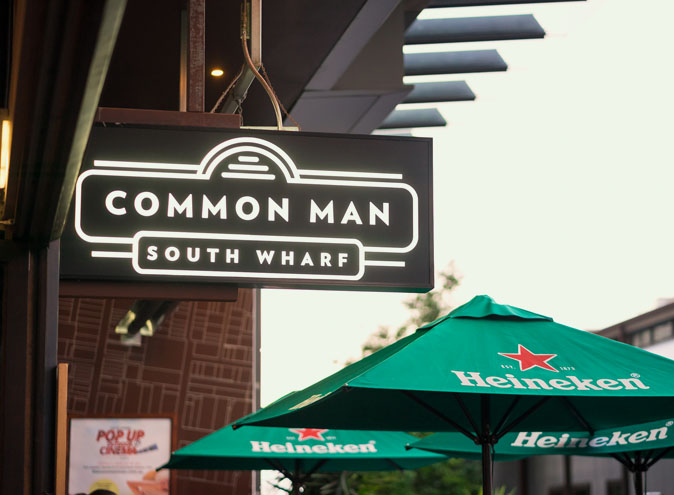 Common Man – Outdoor Venue Hire