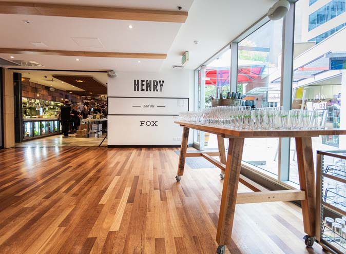 Henry & The Fox – Terrace Venue Hire