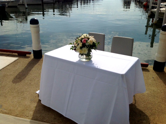 RVMYC – Waterfront Wedding Venues