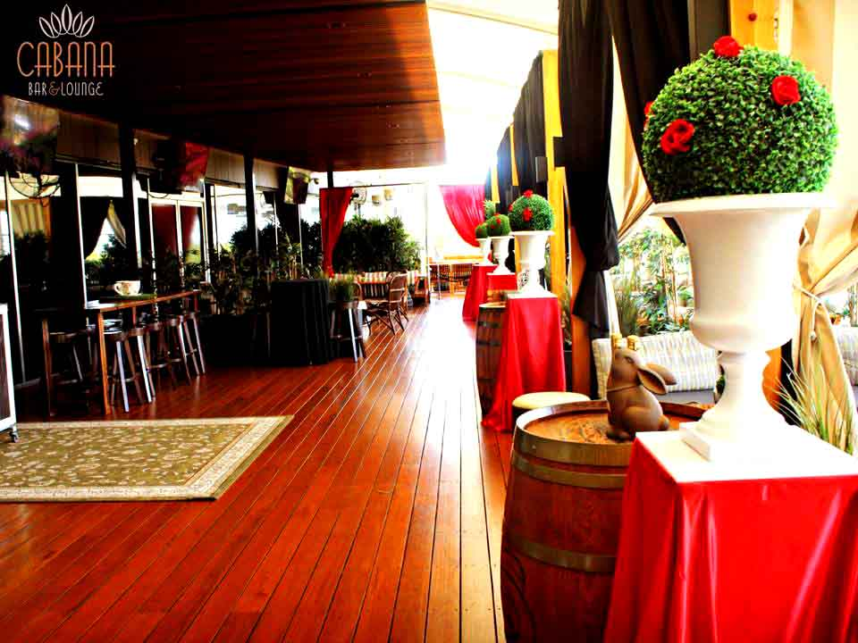 Cabana Bar & Lounge – Venues for Hire