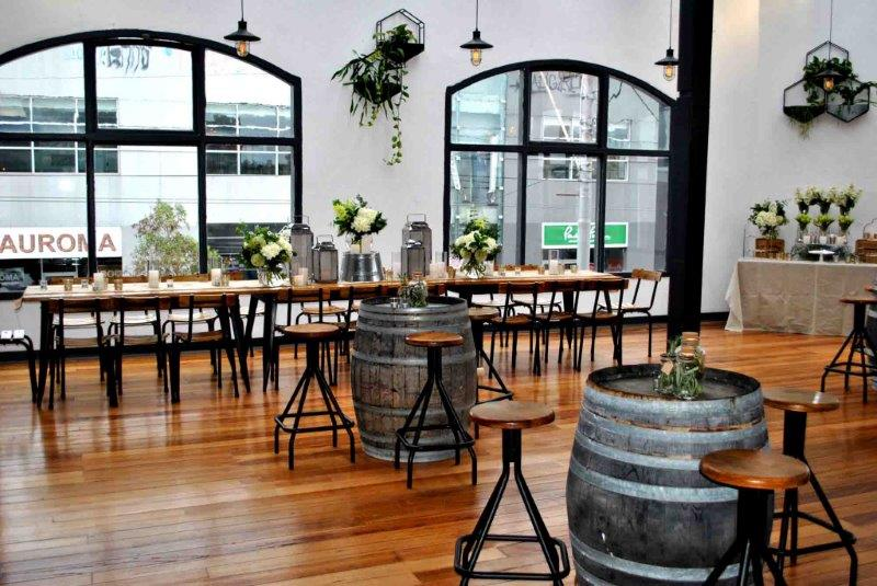 The craft co warehouse venues hidden city secrets for Australian cuisine melbourne