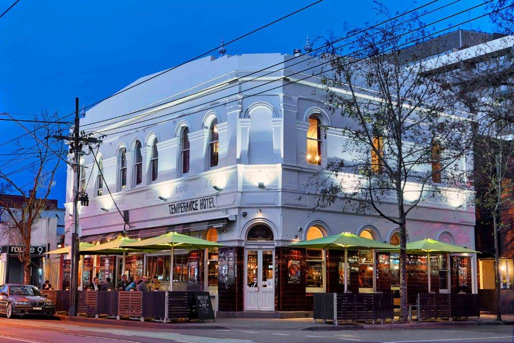 Temperance Hotel – Chapel St Bars