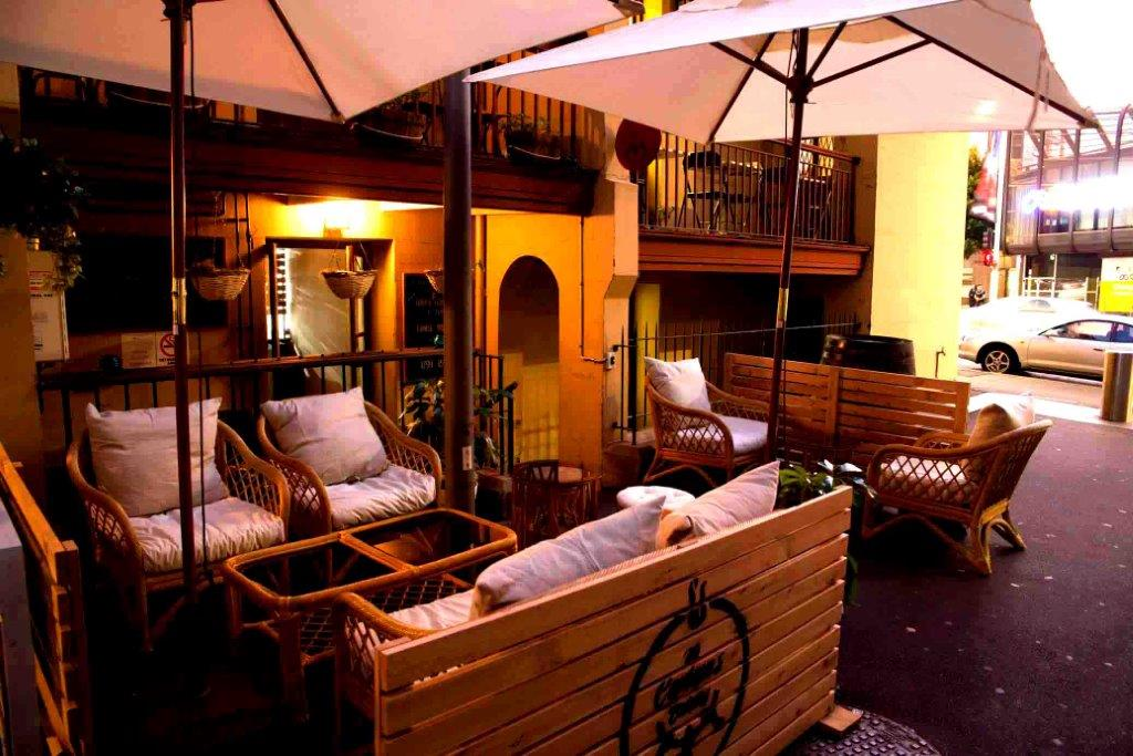 The Captain's Balcony – Function Rooms