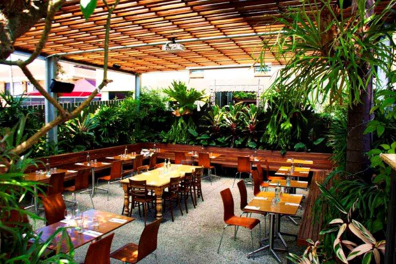 Small bars hidden city secrets for Courtyard landscaping brisbane