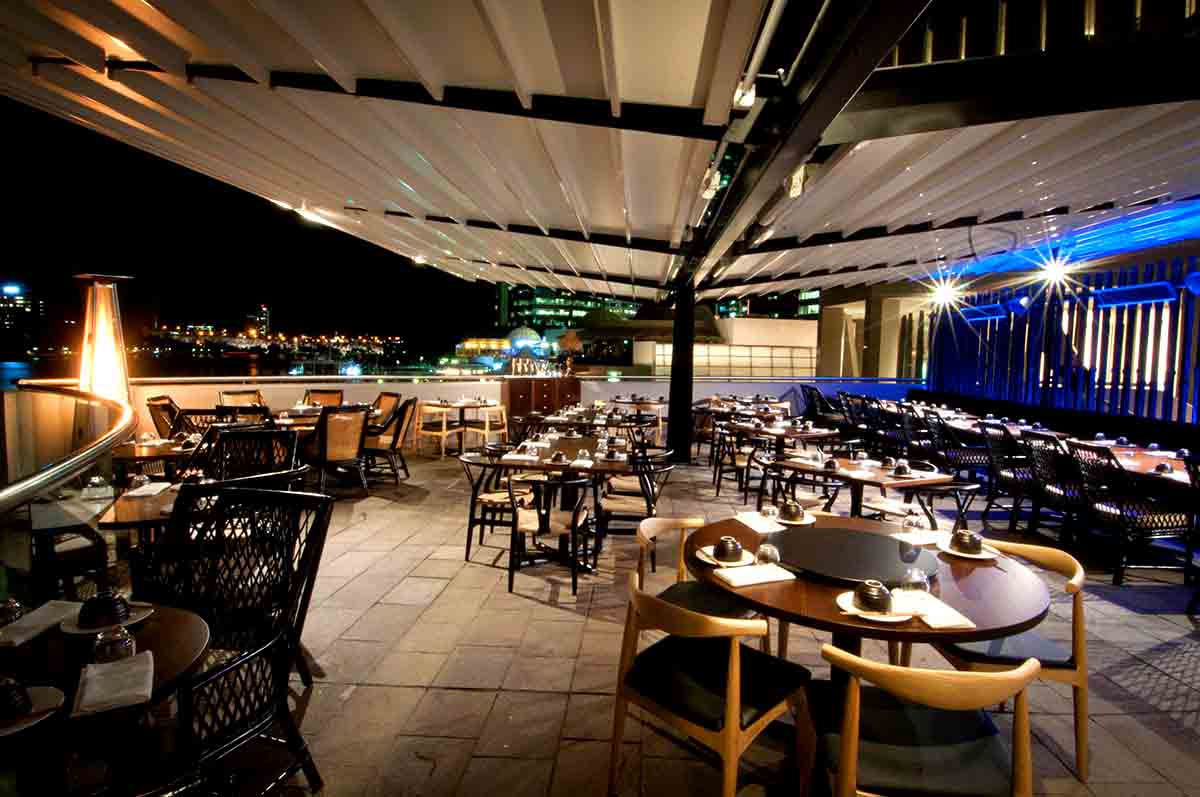 Madame wu waterfront venues hidden city secrets for Best private dining rooms brisbane