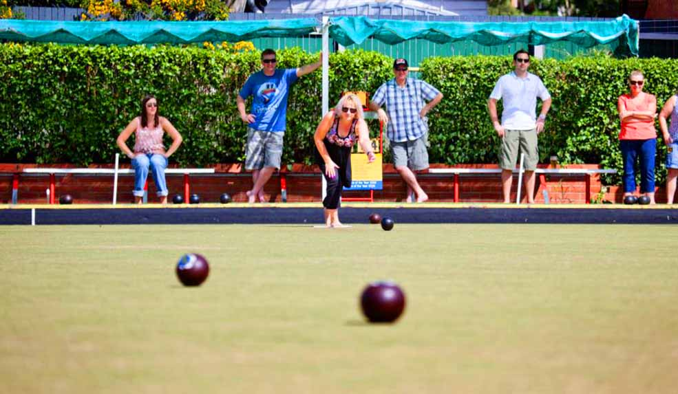 Club Greenslopes – Lawn Bowls