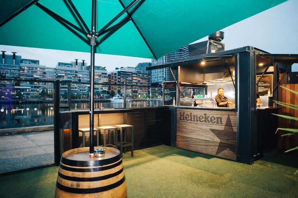 Woolshed Docklands – Top Outdoor Bars