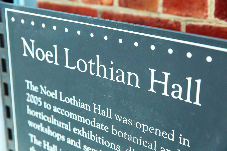 Noel Lothian Hall – Unique Function Venues