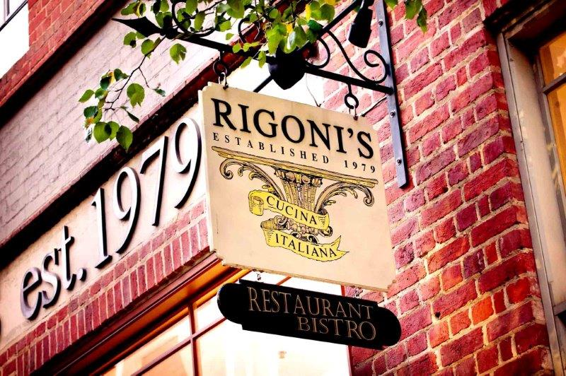 Rigoni's Bistro – Dining Function Rooms
