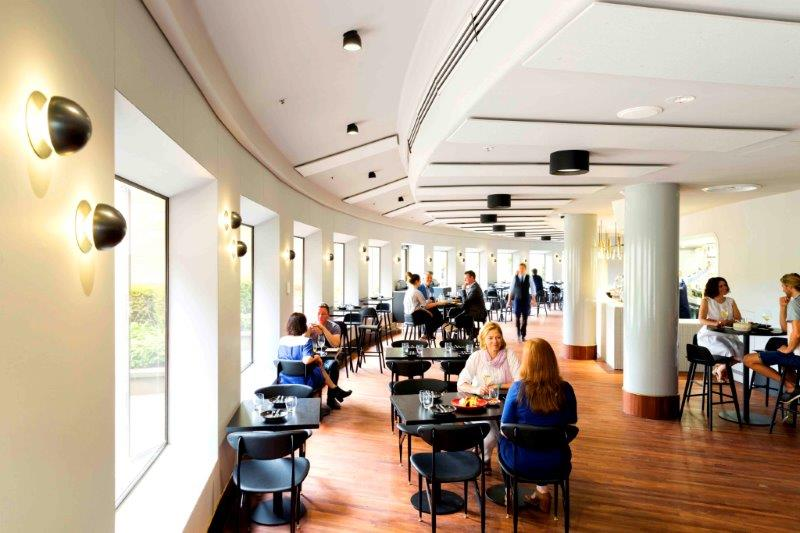 The Barre </br> Top CBD Restaurants