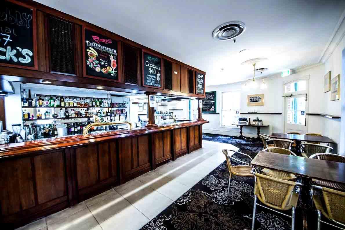 Rigby's Bar & Bistro – Venue Hire