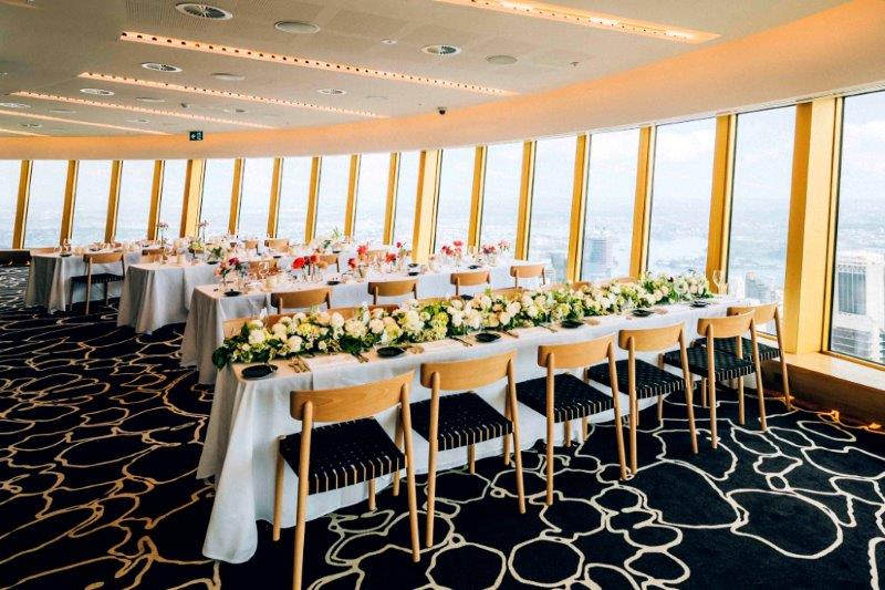 Studio sydney tower venues with a view hidden city for Wedding venue with a view