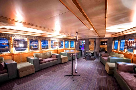 Lady cutler melbourne showboat cruise hire hidden city for Beautiful private dining rooms melbourne