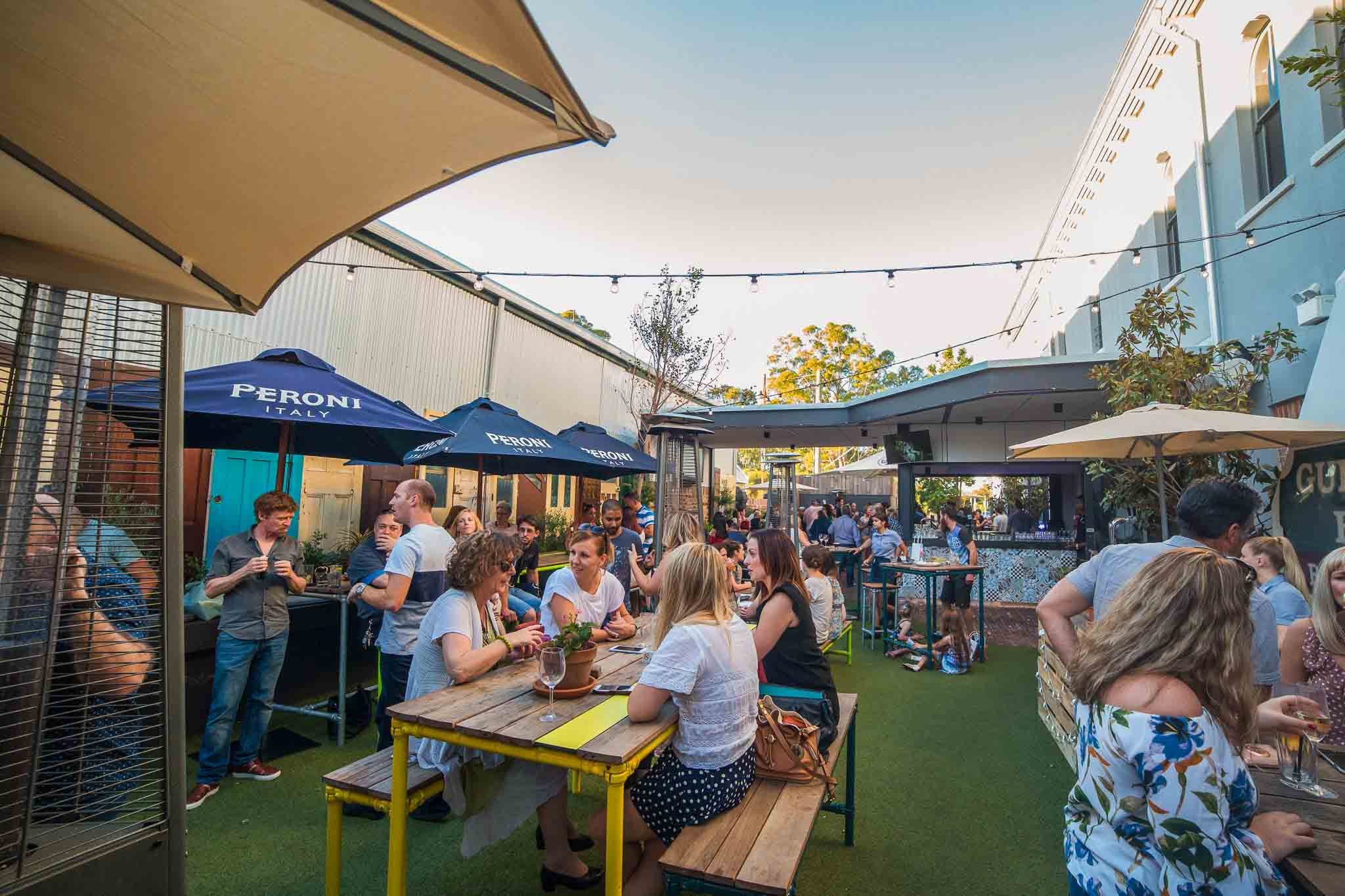The Guildford Hotel - Outdoor Dining Restaurants Perth