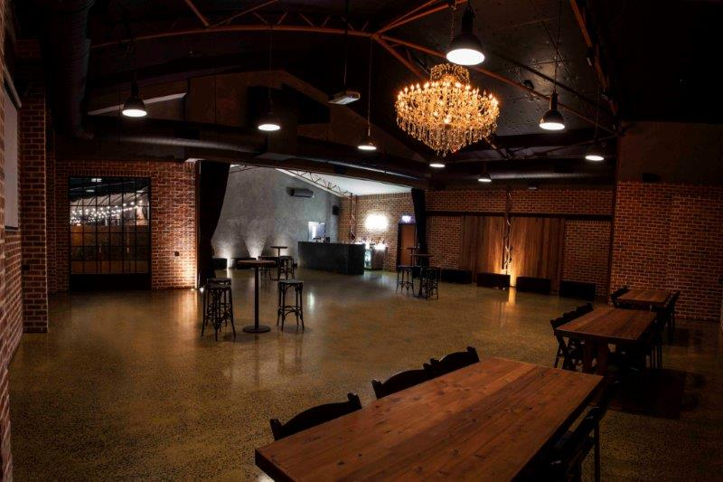 Warehouse venues hidden city secrets for Small private wedding venues