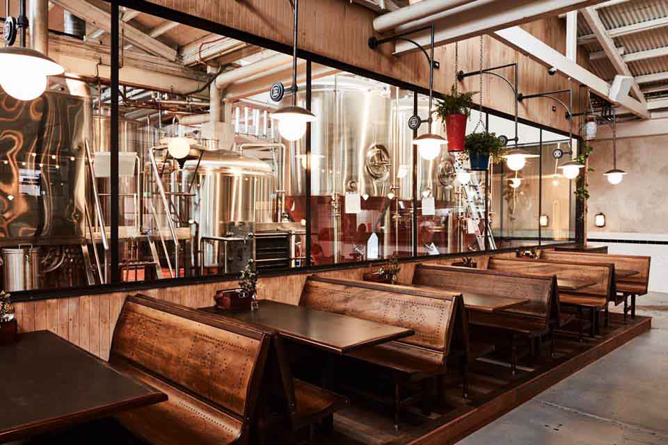 Stomping ground brewery beer hall hidden city secrets for Design industry melbourne