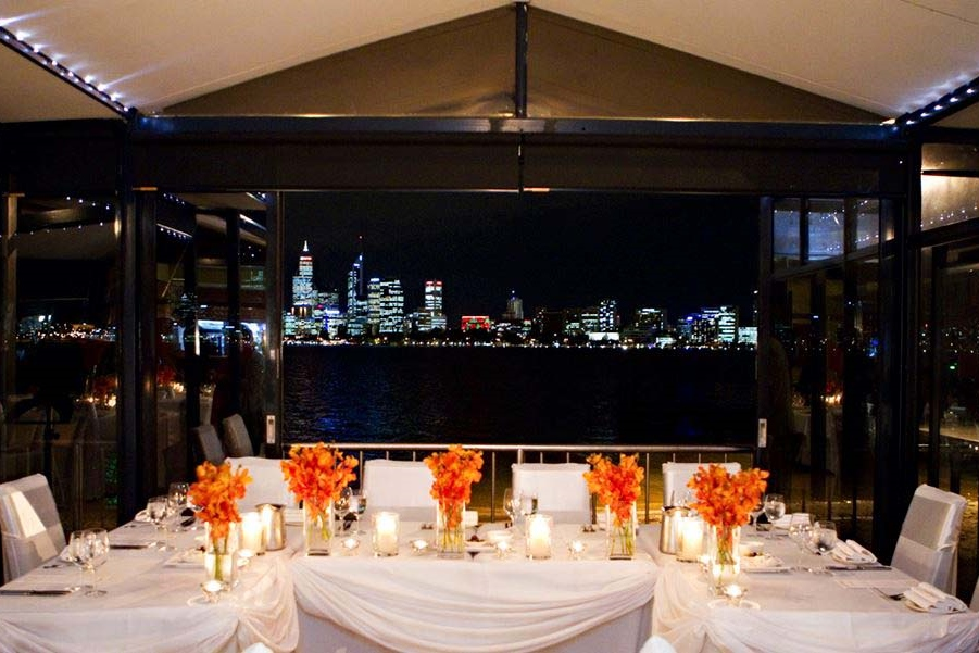 The boatshed restaurant wedding venues hidden city secrets for Best private dining rooms brisbane