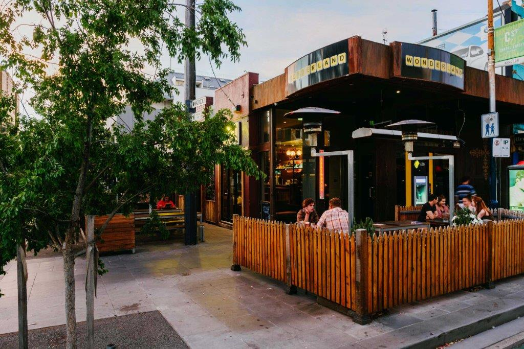 Wonderland Bar <br/> Outdoor Beer Gardens