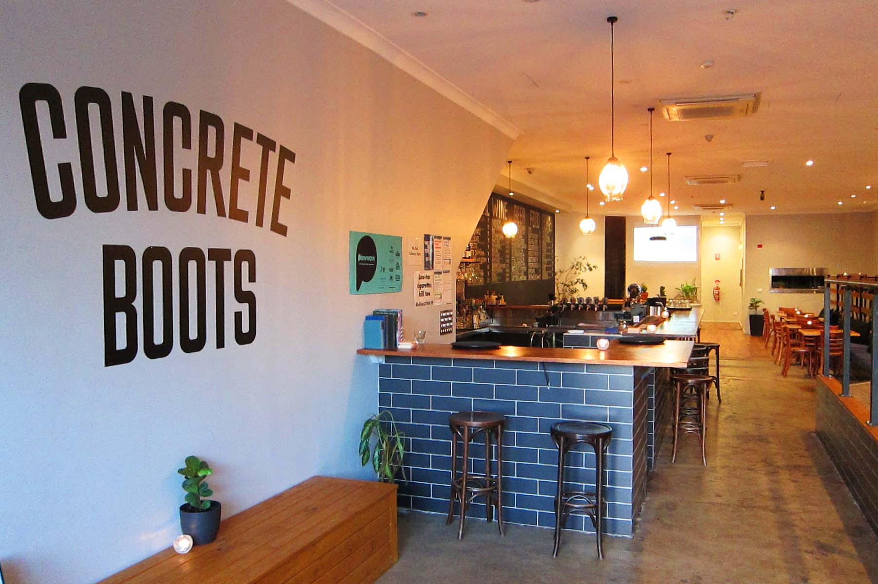 Concrete Boots Bar – Function Venue Hire