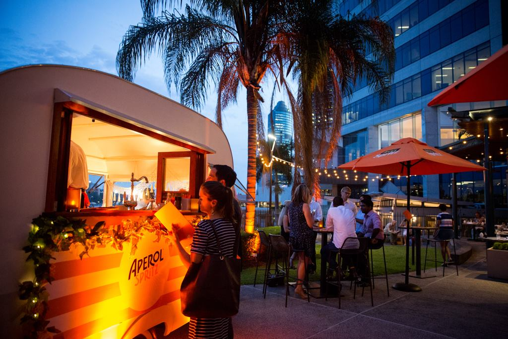 Customs House – Sunset Spritz Bar