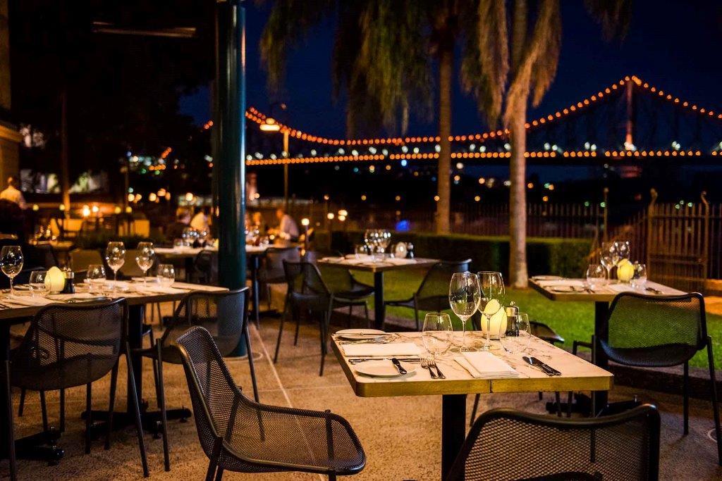 Customs House Brisbane – Alfresco Dining