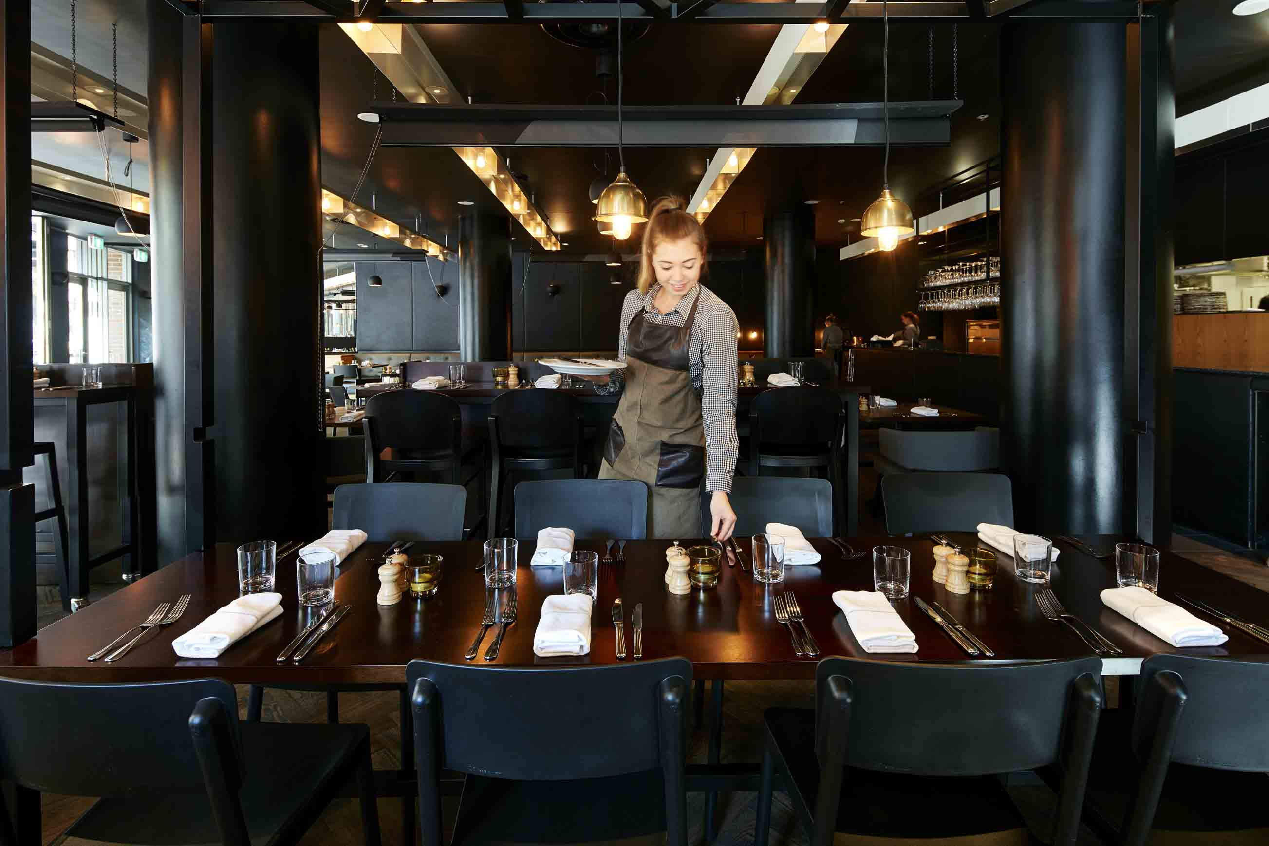 Walsh bay kitchen fine dining restaurants hidden city for Best dining rooms in sydney