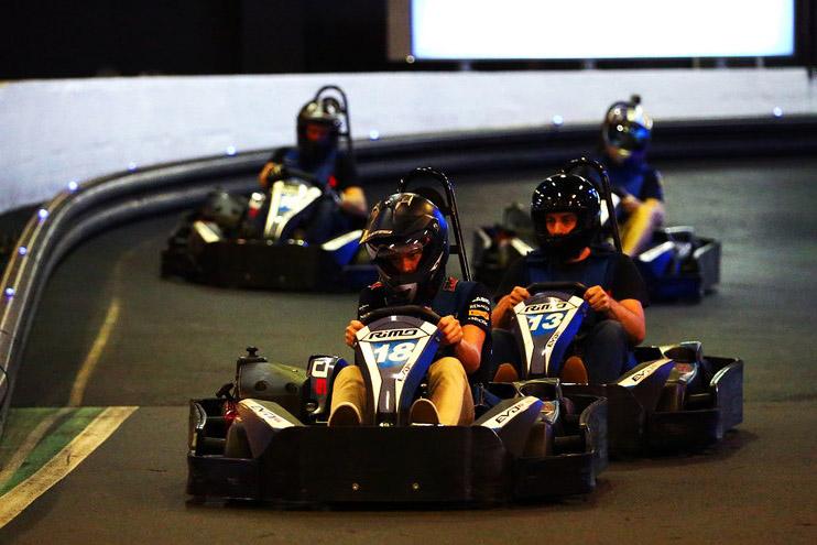Auscarts Indoor Racing <br/> Unique Function Activities