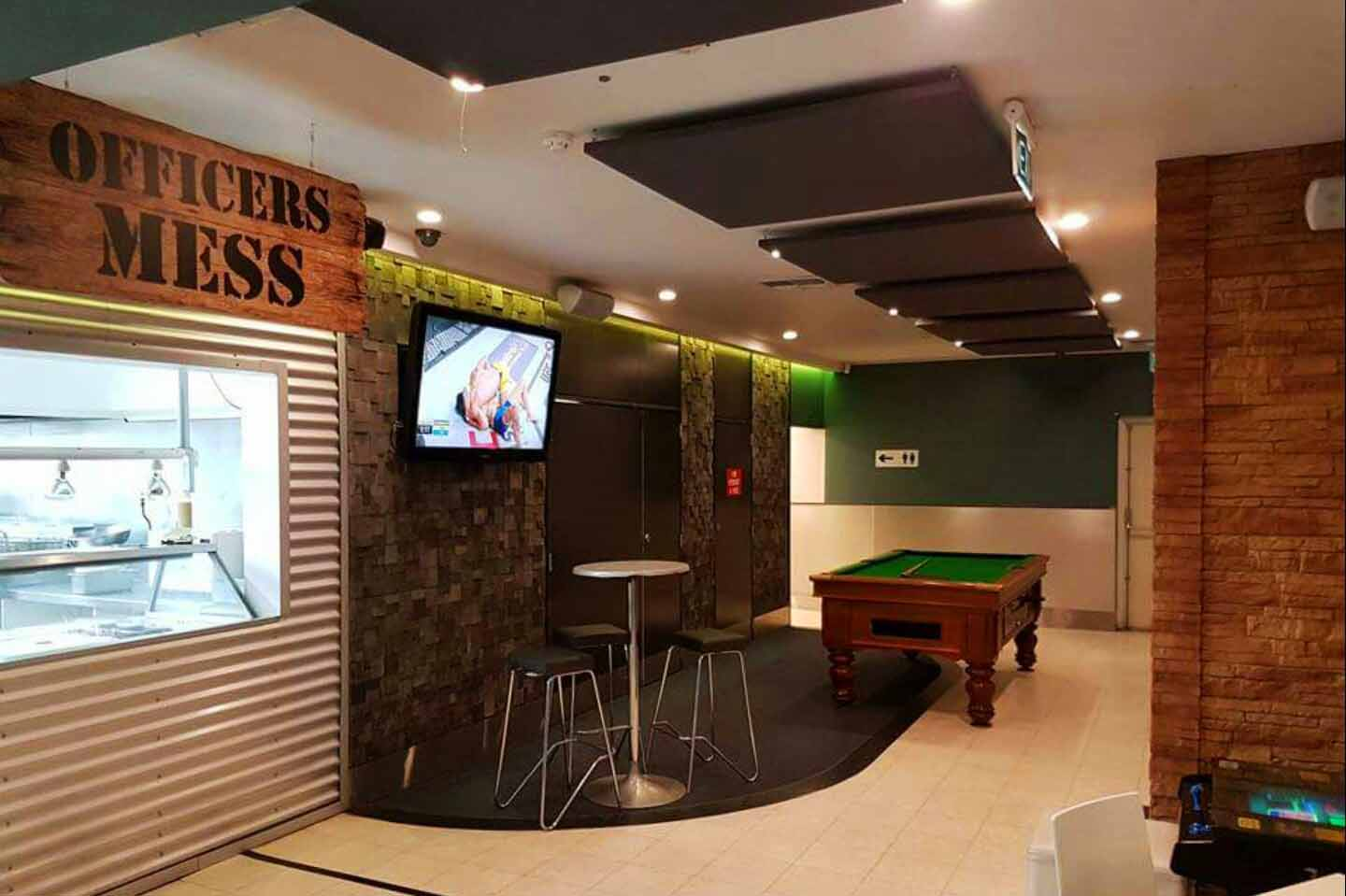The Bunker Sports Bar & Grill <br/> Sports Bar Venue Hire