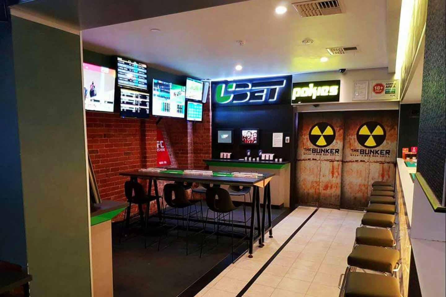 The Bunker Sports Bar Amp Grill Venue Hire Hidden City