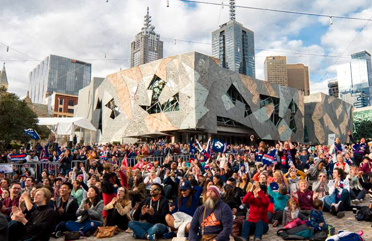 Federation Square final