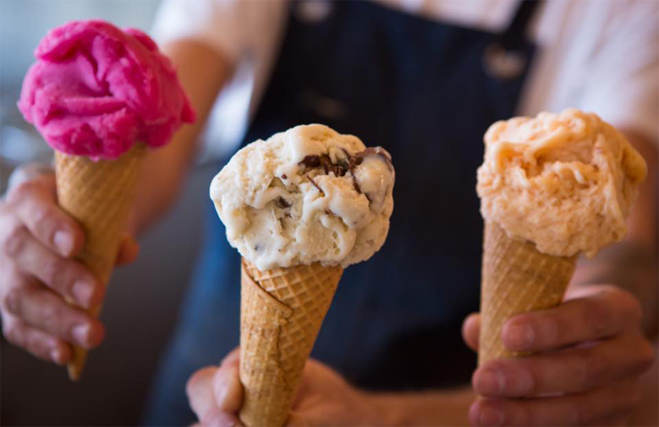 Il-Melograno-gelato-icecream-waffle-cone-melbourne-things-to-do