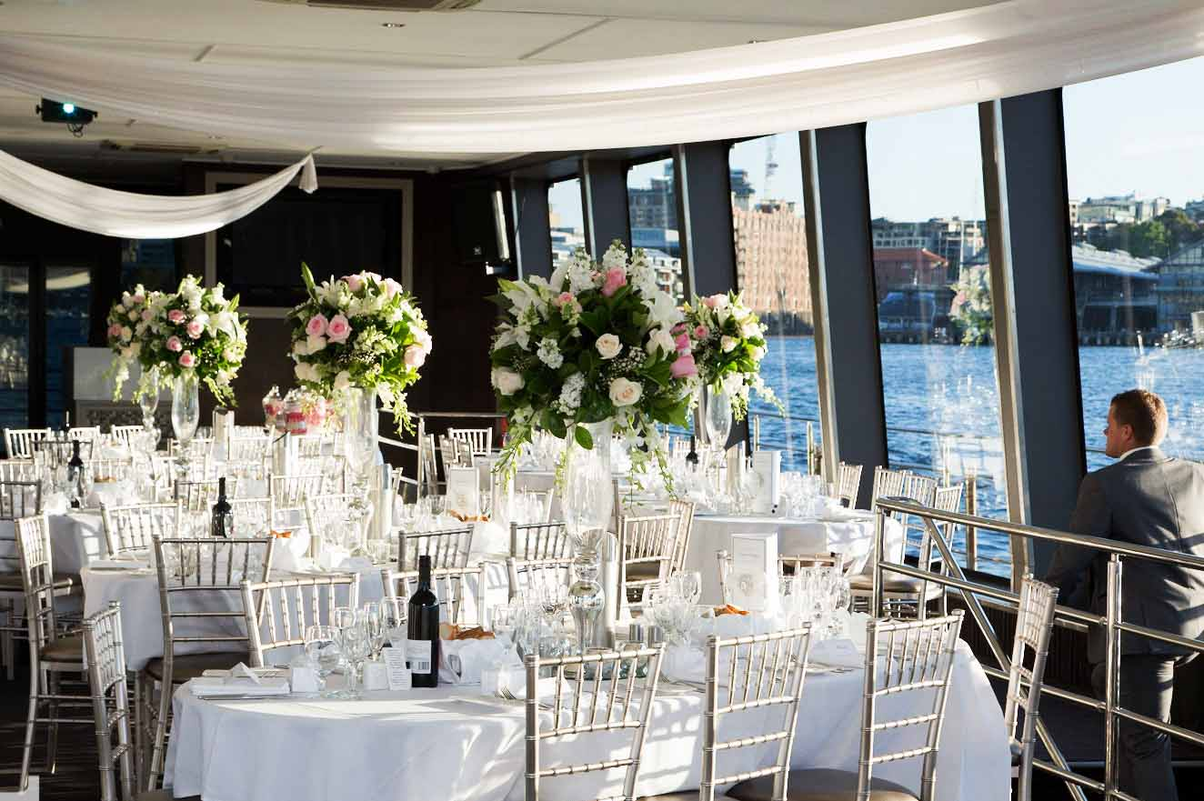 All occasion cruises cruise boat venues hidden city for Small private wedding venues