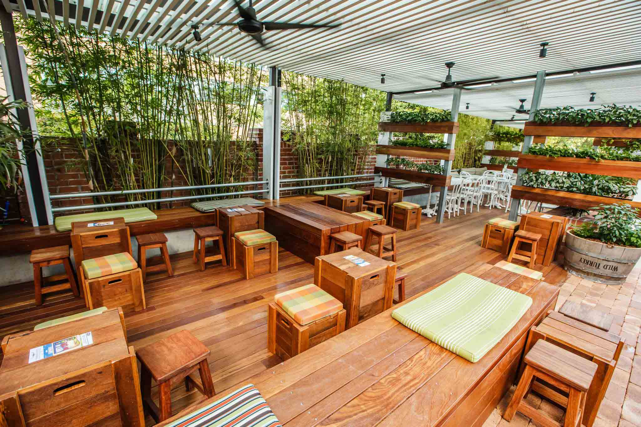 Outdoor venues hidden city secrets for Best private dining rooms brisbane