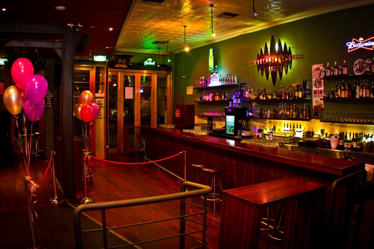 Universal Bar – Live Music Function Venues