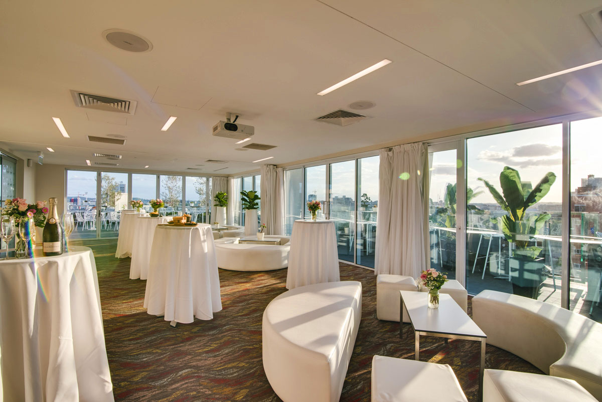 Eagles Nest – Rooftop Function Venues