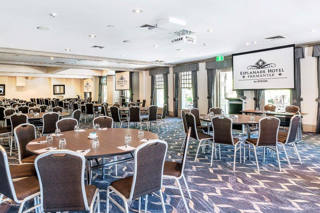 Esplanade Hotel Fremantle – Large Event Venues